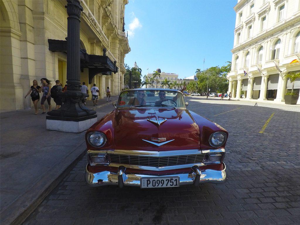 Chevrolet Conversível em Havana