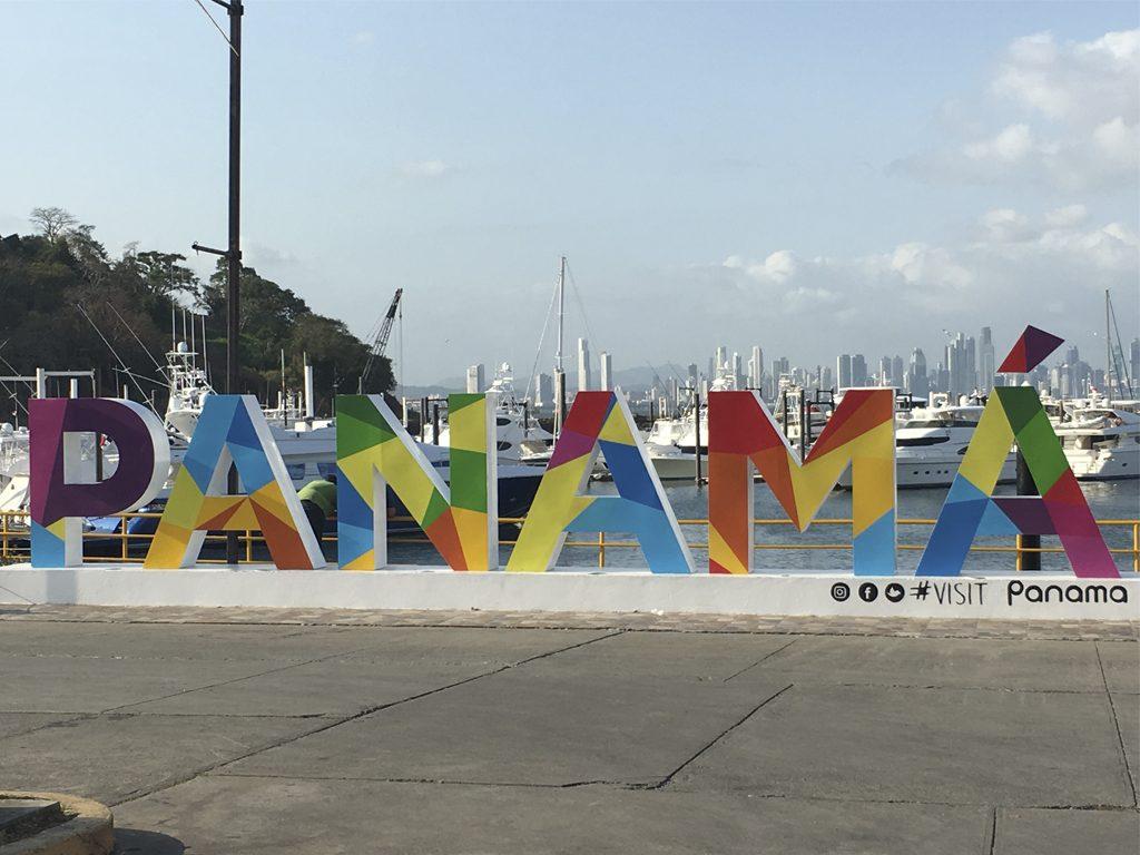Letreiro Panamá