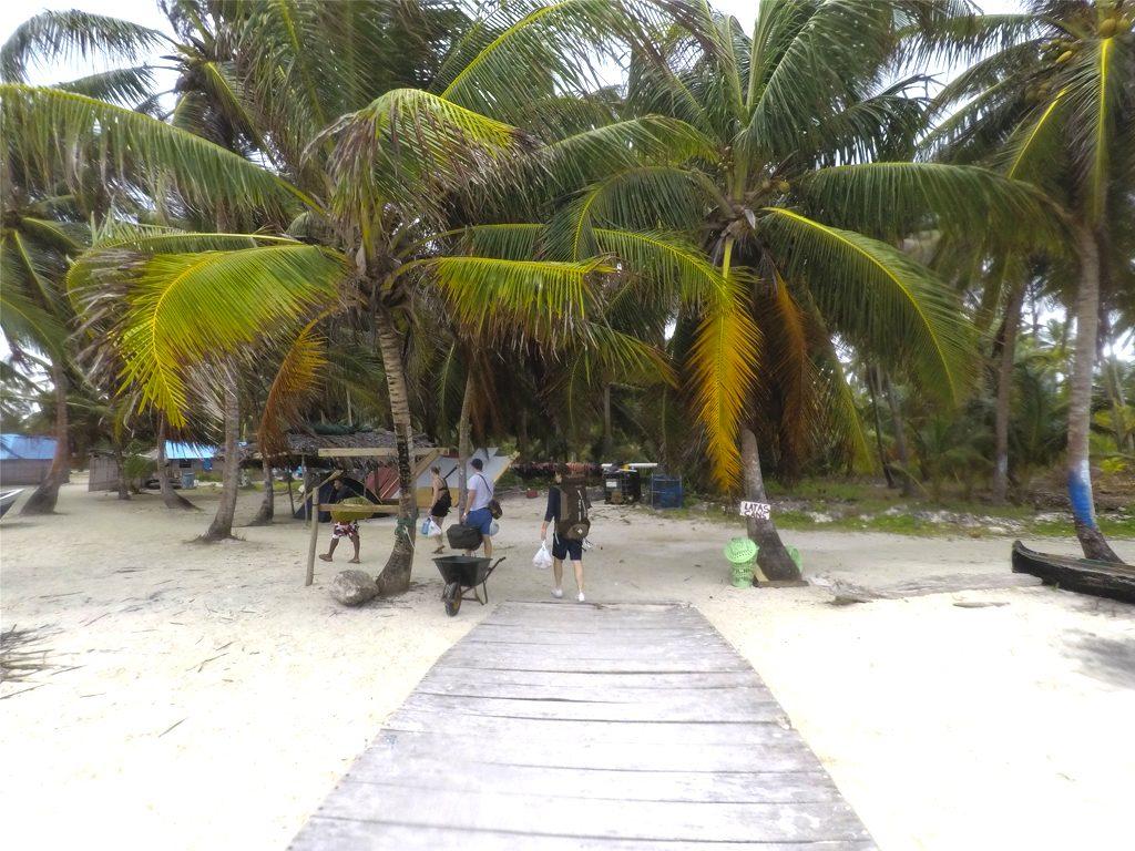 Entrada da Ilha de Chichime
