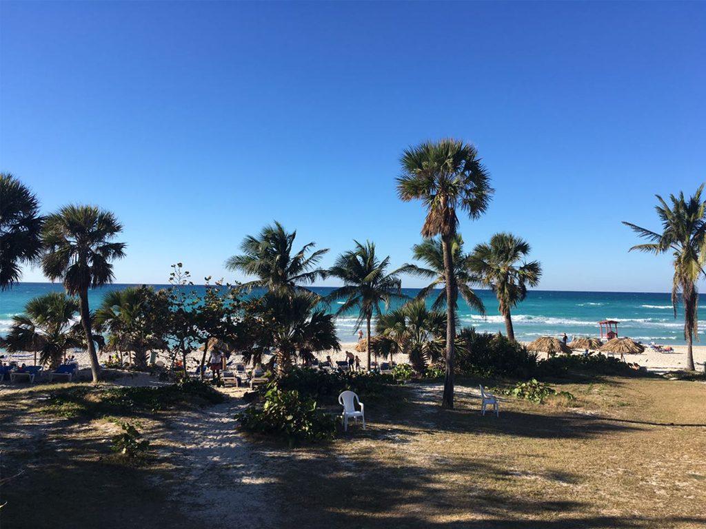Praia do Hotel em varadero