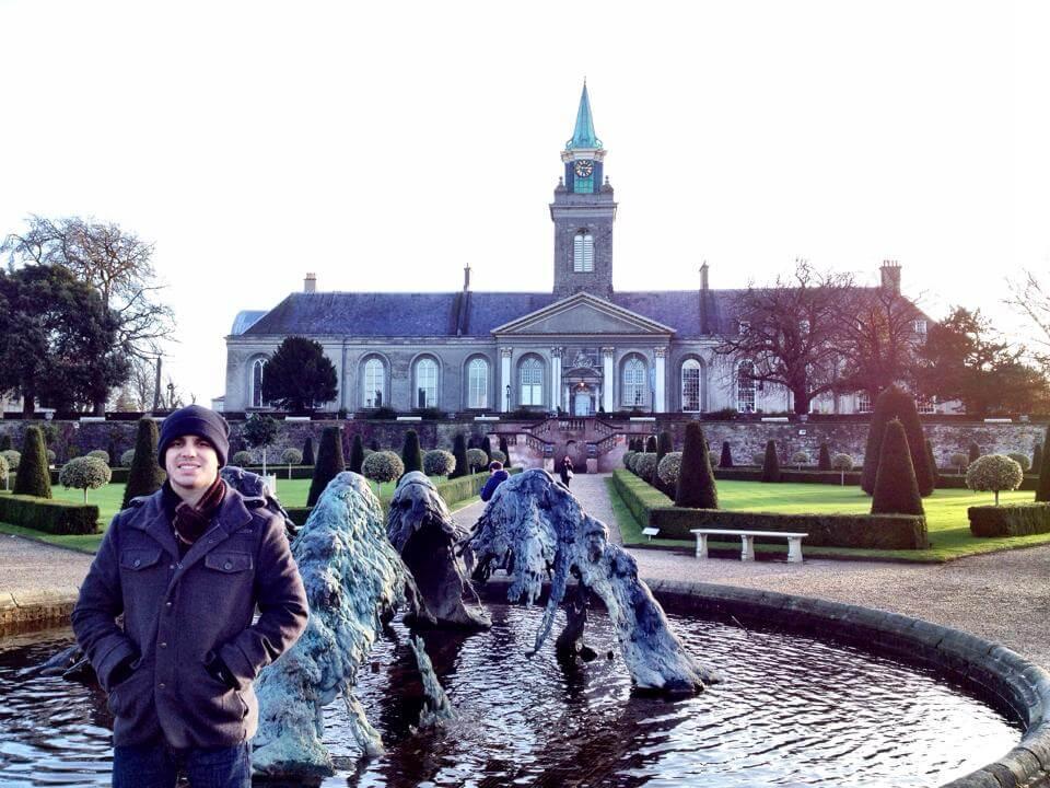 Castelo em Dublin