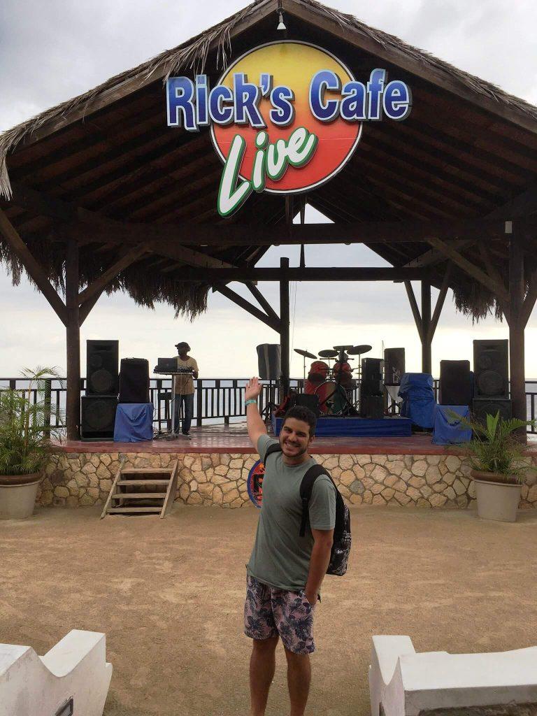 Palco do Ricks Café