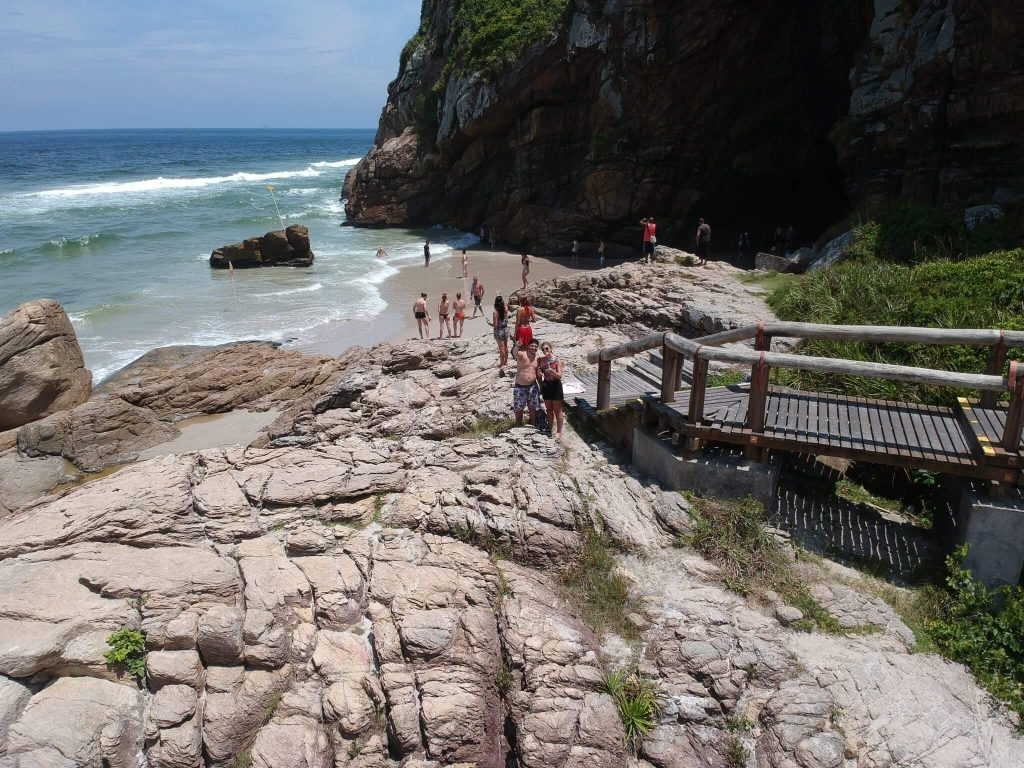 Gruta das Encantadas - Ilha do Mel