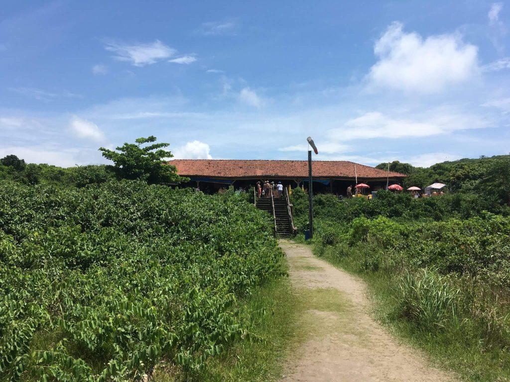 Praça de Alimentação em Encantadas - Ilha do Mel