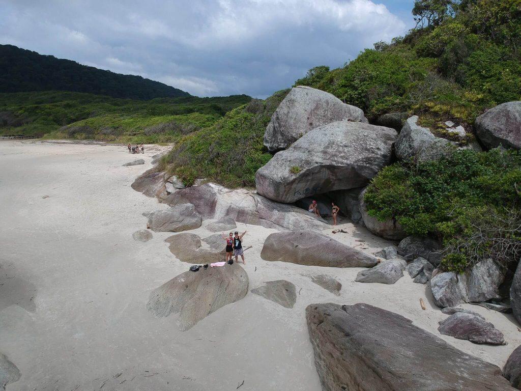 Trilha para Encantadas - Ilha do Mel